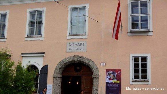 Wolfgang Amadeus Mozart, Salzburgo, Austria