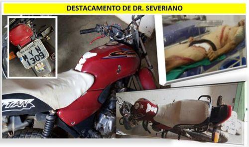 Jovem é preso pela PM de Dr. Severiano após furtar motocicleta em Rafael Fernandes
