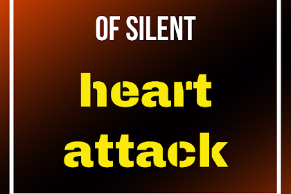 Unusual symptoms of a silent heart attack