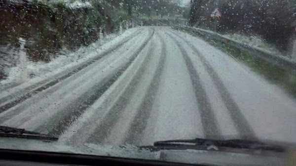Cierre  carreteras Gran Canaria por helada