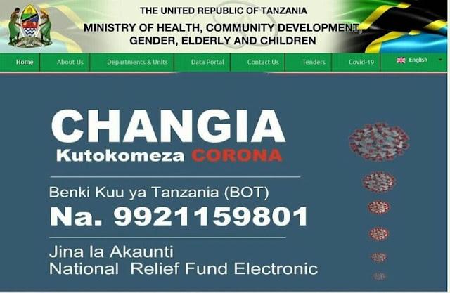 #Tokomezacorona initiative in Tanzania