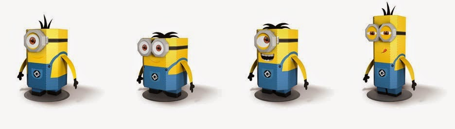 despicable me papercraft