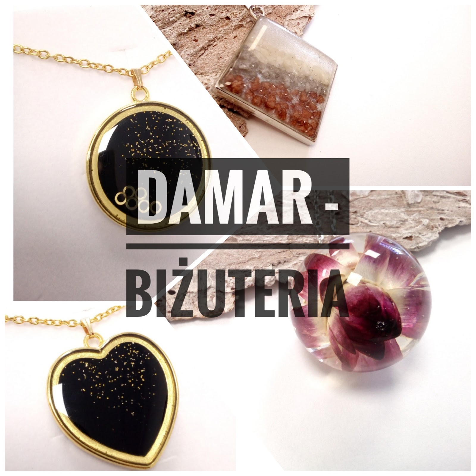 Damar - biżuteria z żywicy - fajny pomysł na prezent
