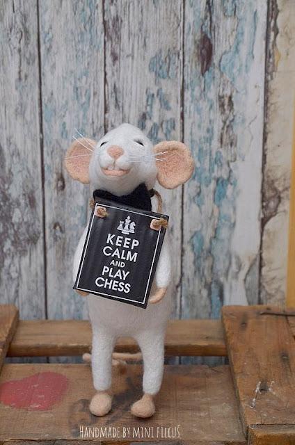 {z cyklu} SZACHY NIE Z TEJ BAJKI: szczurek nie mój i nie dla mnie
