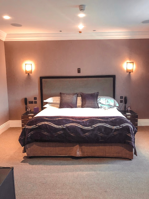 Seaham Hall bedroom