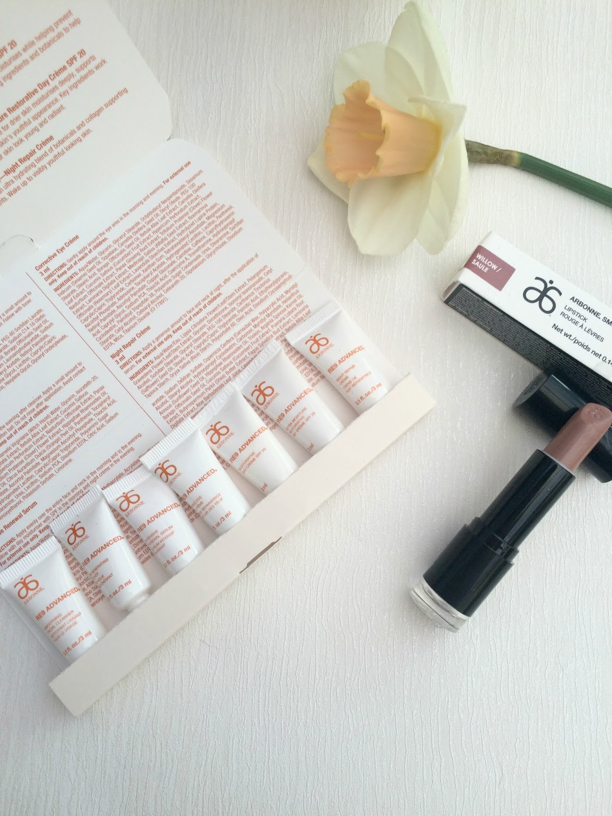 Arbonne skincare and makeup review