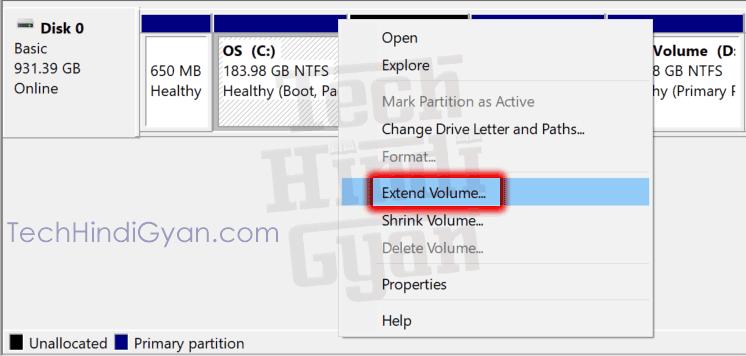 कंप्यूटर हार्ड डिस्क पार्टीशन डिलीट कैसे करते हैं - How To Delete Hard Disk Partition