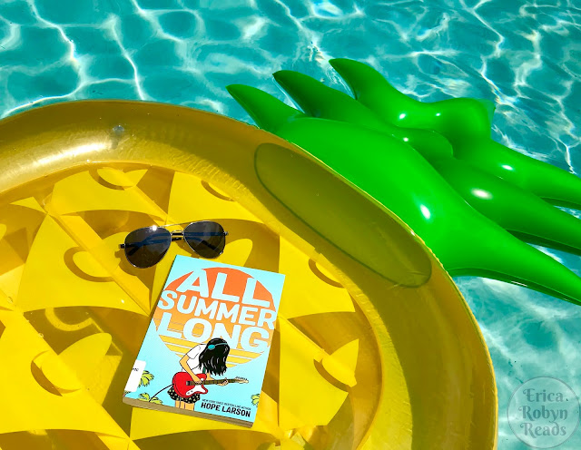 Graphic Novel Review of All Summer Long by Hope Larson
