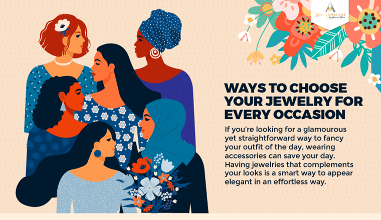 Ways to Choose Your Jewelry for Every Occasion #Infographic