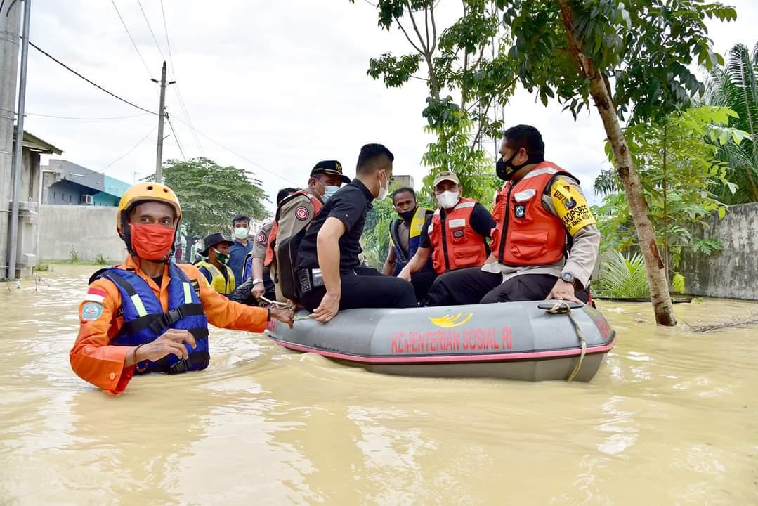 Sekitar 6.663 Rumah Di Tebingtinggi Terendam Banjir Kiriman