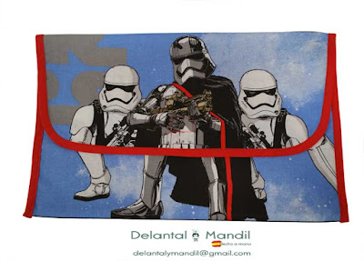 delantal star wars