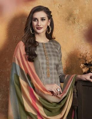 Rupali Fashion Aarohi Jam Satin Salwar Kameez Collection Wholesaler