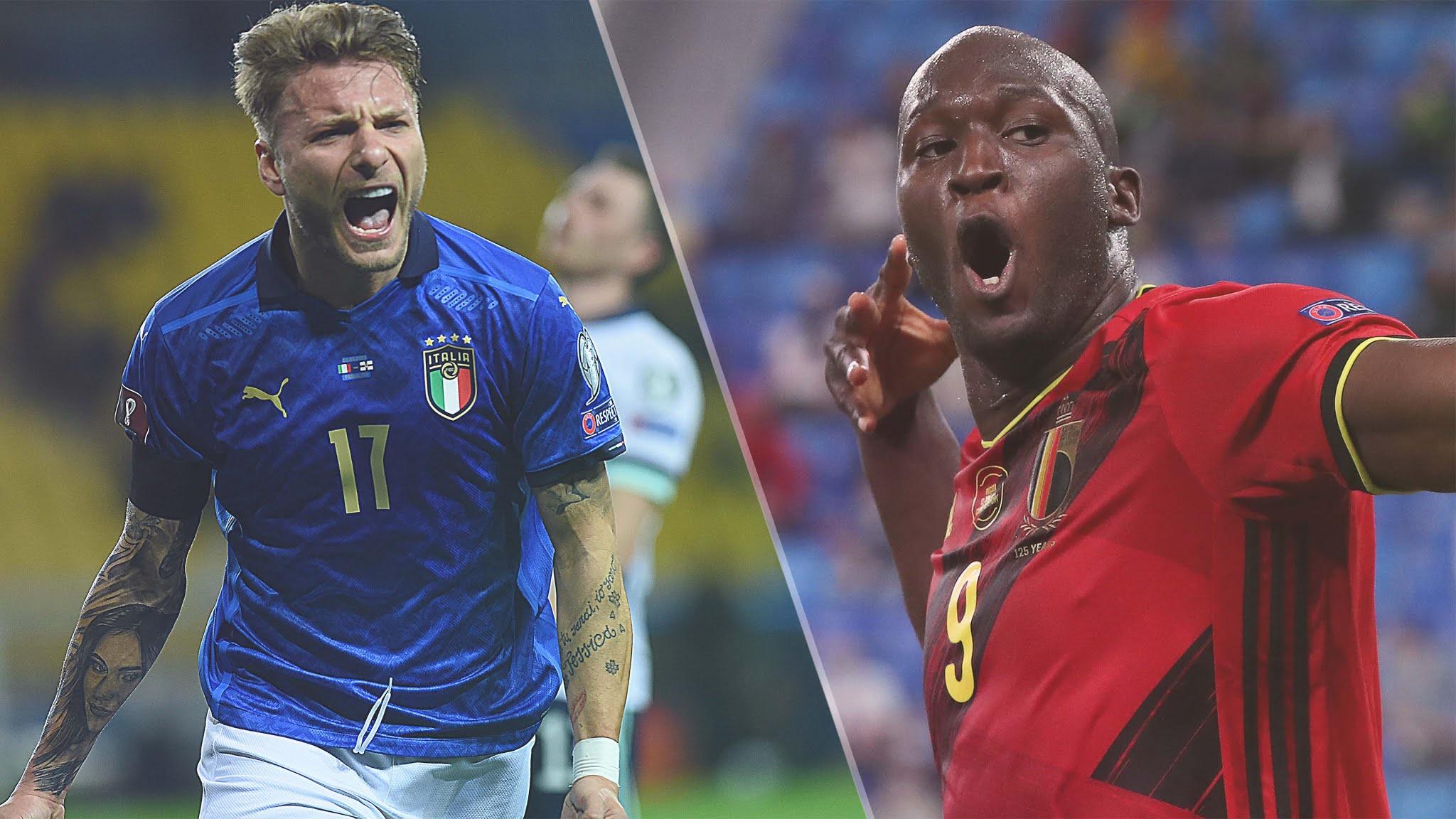 إيطاليا وبلجيكا