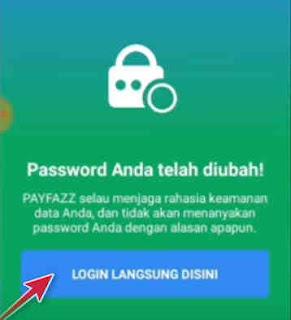 cara ubah password payfazz