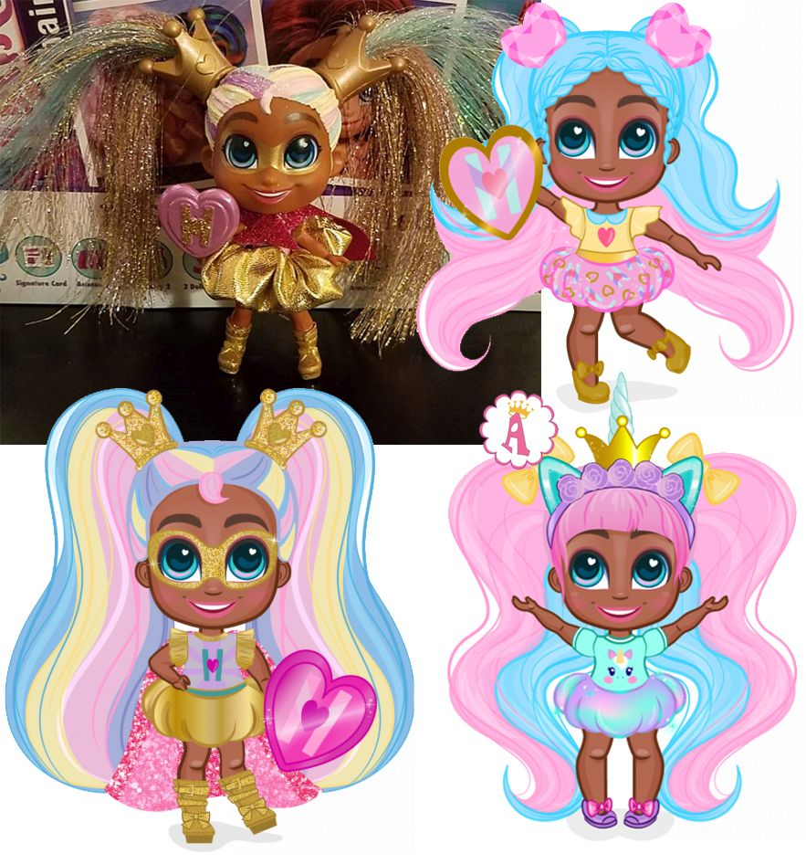 Редкая кукла Maya из 1 серии Hairdorables Short Cuts
