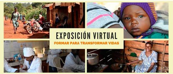 Exposición virtual Formar para transformar vidas