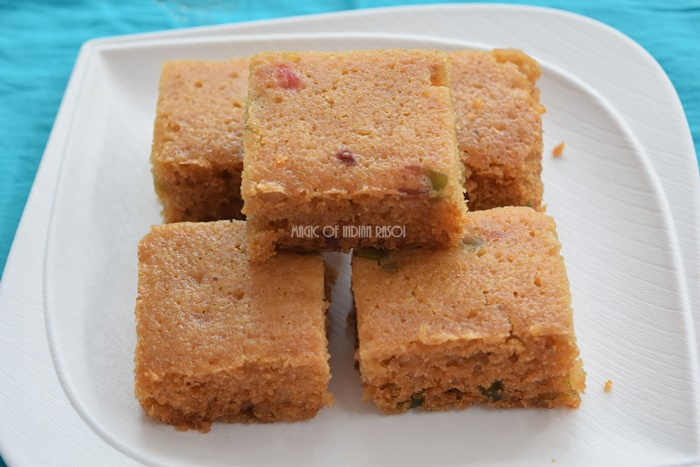 Good Day Biscuit Cake in Kadai Recipe- Magic of Indian Rasoi - Priya R