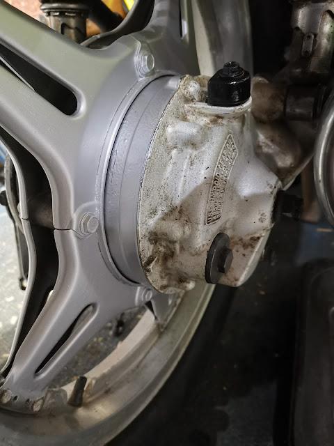 Honda CX500 Motorcycle Final Drive