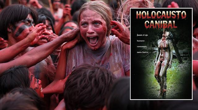 filmes perturbadores, filmes chocantes, filmes macabros, filmes bizarros, holocausto canibal