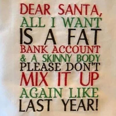 Dear Santa, All i want...