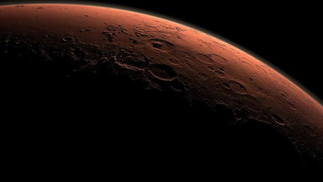 dilúvio universal foram vistos em Marte