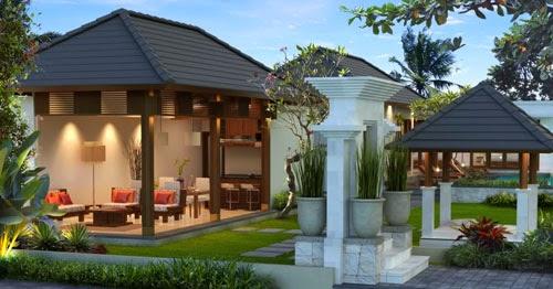 Desain Rumah Minimalis Gaya Bali yang Menawan