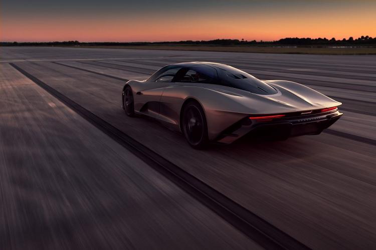 McLaren hé lộ bí mật hệ thống hybrid trên siêu xe Speedtail