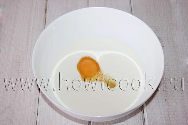 рецепт блинов на простокваше с пошаговыми фото