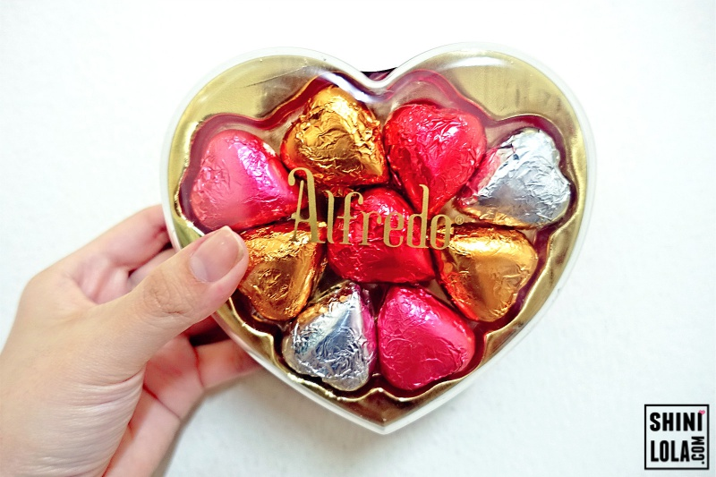 Complimentary Heart Shaped Chocolates