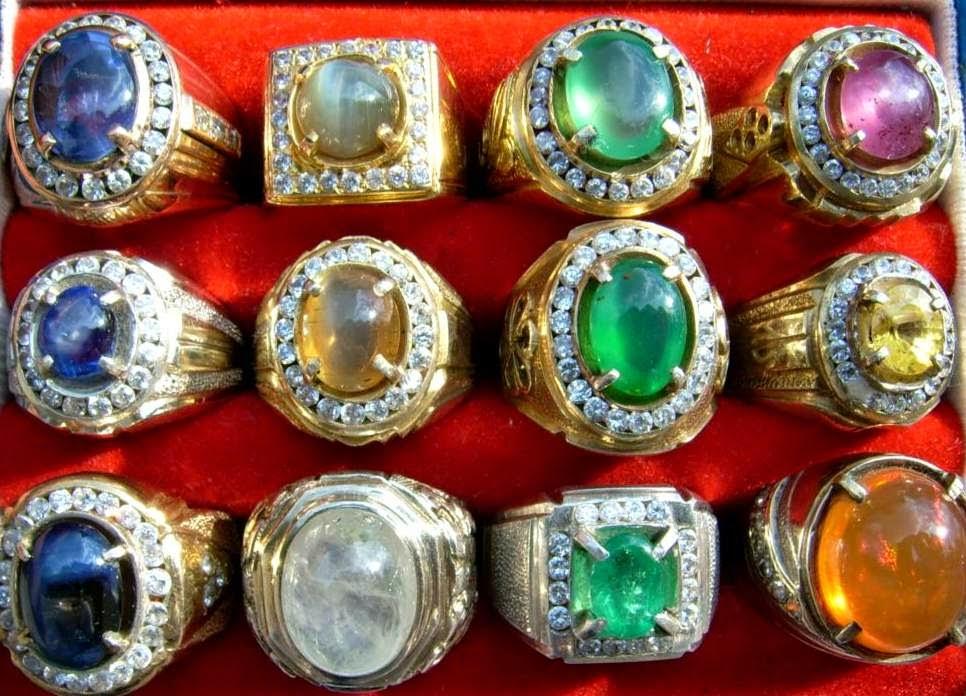 koleksi cincin batu akik