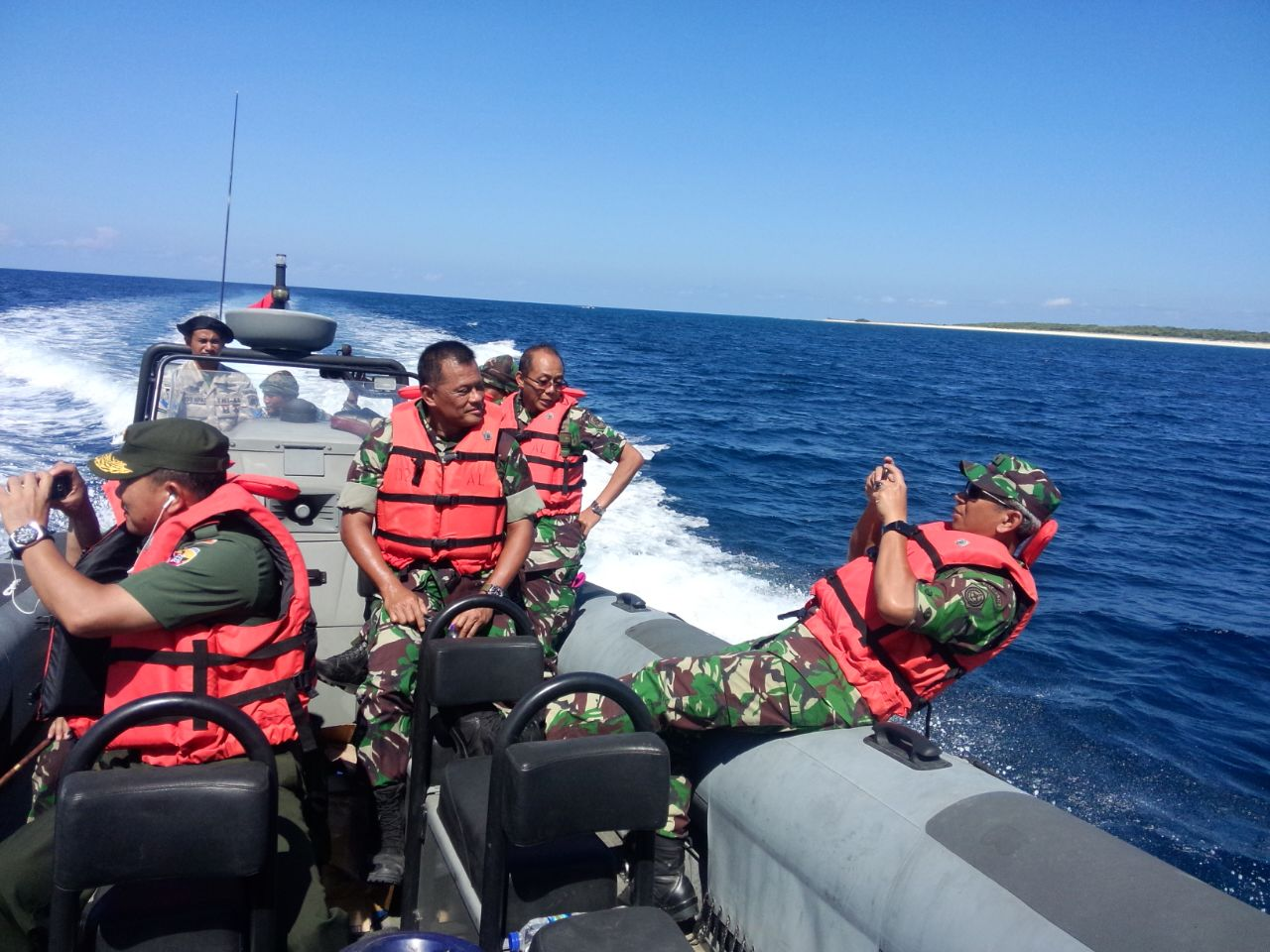 Panglima TNI : Jaga Pulau Terluar Adalah Kebanggaan