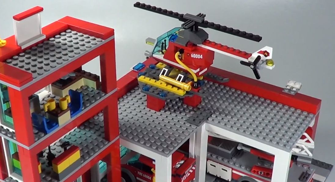 DeToyz Shop: Lego 60004 City - Fire Station