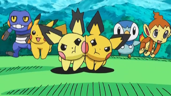 Pichu Shiny Anime Pokémon