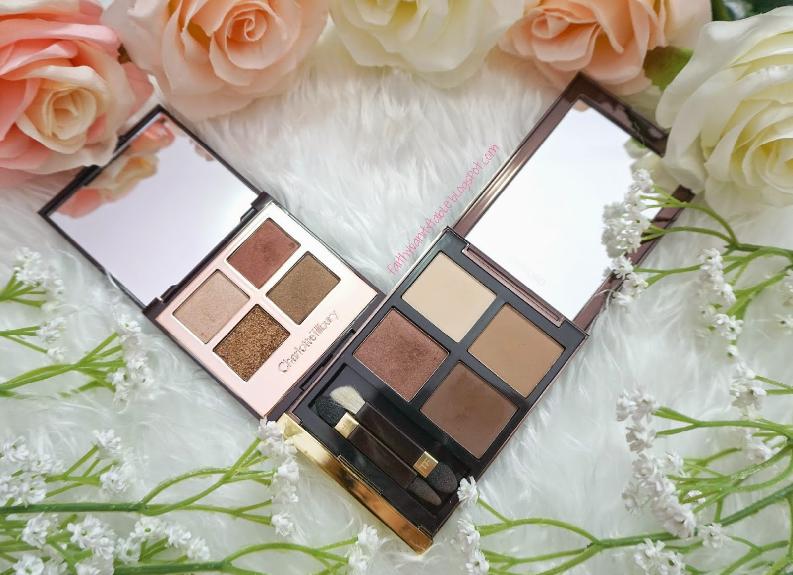 Review of Tom Ford, Charlotte Tilbury Eyeshadow Quad