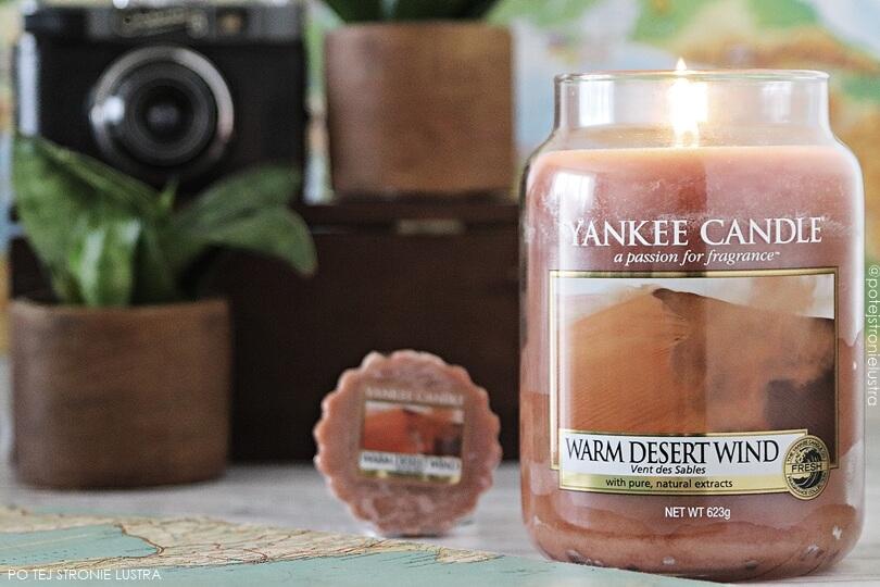 yankee candle warm desert wind świeca i wosk