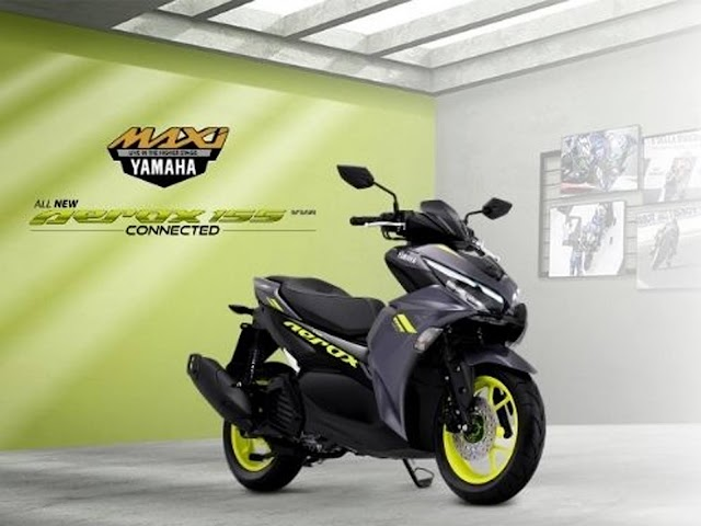 Rasakan Sensasi Berkendara Advance Feature dengan Yamaha All New Aerox 155 Connected
