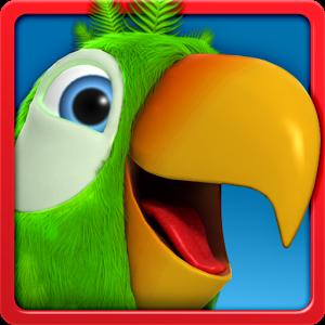 لعبة الببغاء بيير المتكلم للأندرويد - Talking Pierre the Parrot Apk