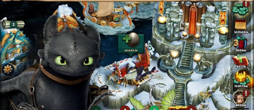 Download Dragon: Rise of Berk Mod Apk   Unlimited Money