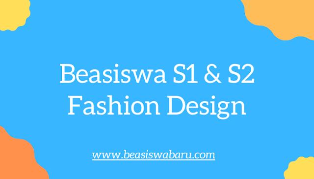 beasiswa fashion design s1 s2