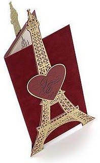 Convite Paris idéias