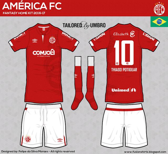 Designer cria camisas dos clubes da Série C inspiradas na Umbro - Grupo A d4f19894f309c