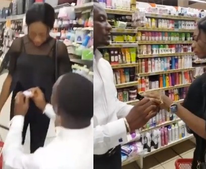 Woman Walks Out On Her Boyfriend After He Proposed To Her