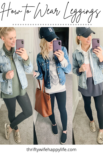 How to Wear Leggings || 9 Outfit Ideas with Leggings