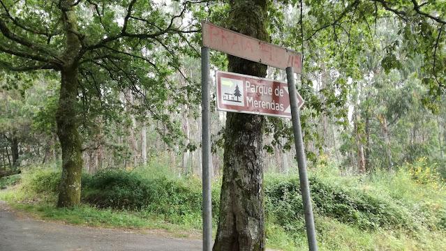 Placas de sinalização praia fluvial