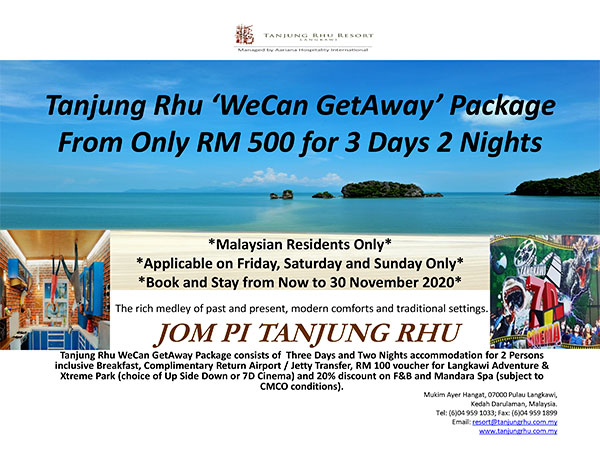 RMCO Malaysia Travel Package