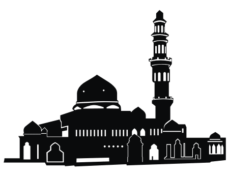 Download Vector Silhouette Masjid (Mosque)
