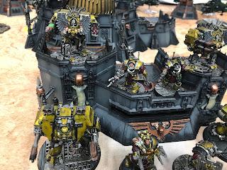 Metallic Imperial Fists Terminators, Horus Heresy