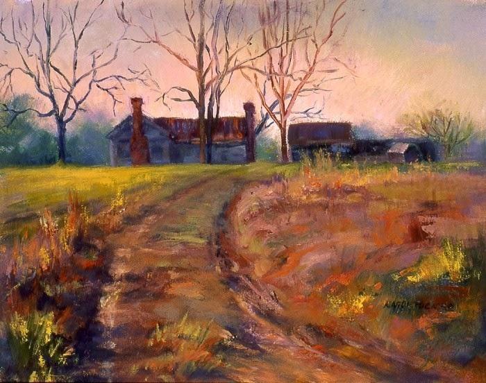 Американская художница. Karol Tucker