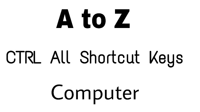 The 26 most useful Computer shortcut keys