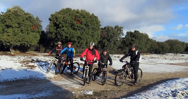 AlfonsoyAmigos - El Escorial - Nieve